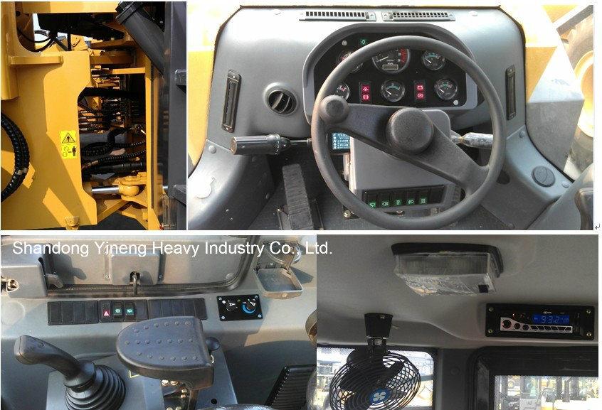 Zl50 Yineng 5 Ton Wheel Loader Yn958