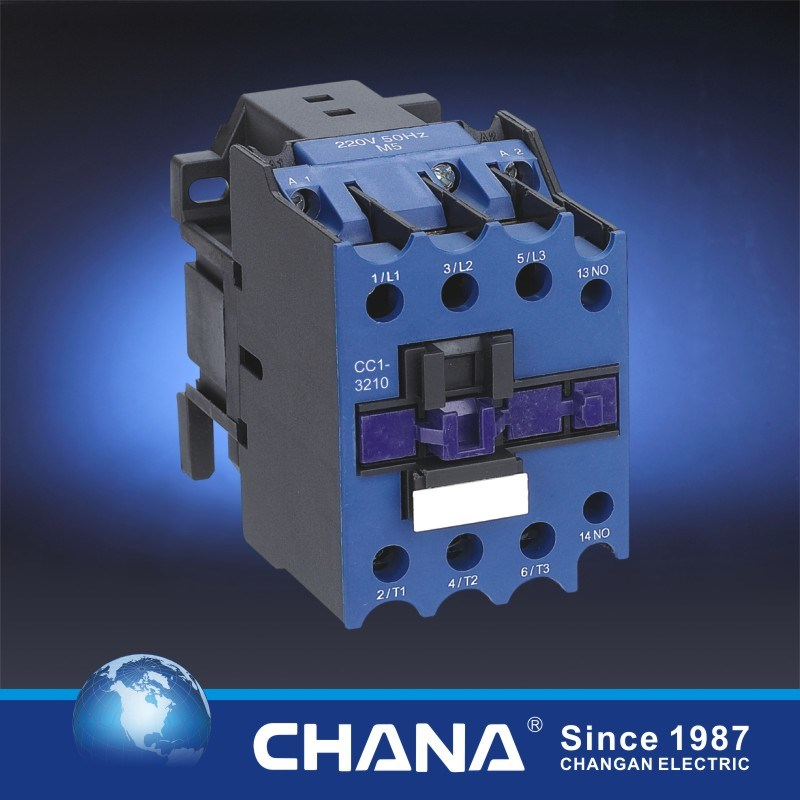 Multiple Coil AC/DC Cc1 Series 9-95A Industrial Contactor
