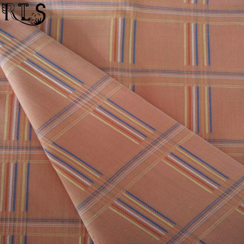 Cotton Polyester T/C Yarn Dyed Fabric for Clothing Shirts/Dress Rls45-1tc