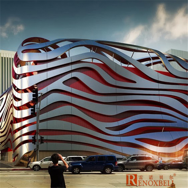China Building Material Curved Aluminum Panel For Museum