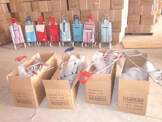 Folding Shopping Trolley Bag (XY-403)