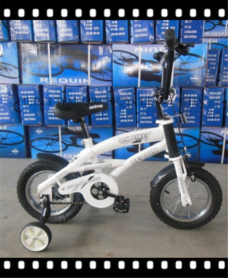 "White Color 12"" Steel Frame Children Bicycle Hot Sale in Africa Bike"