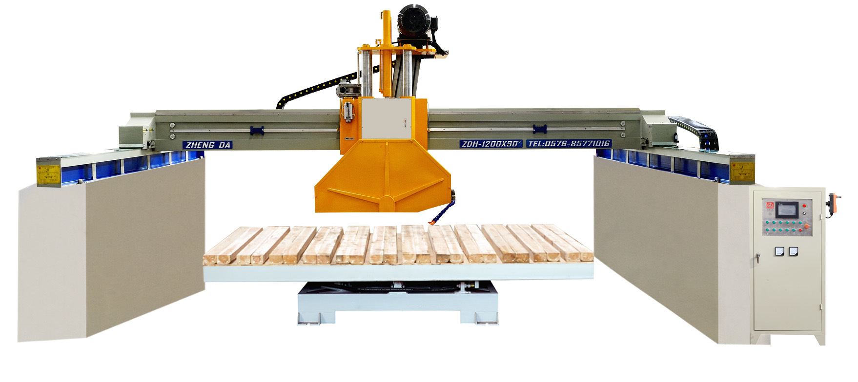 Automatic Middle Block Cutter by Laser (ZDH-1200A)
