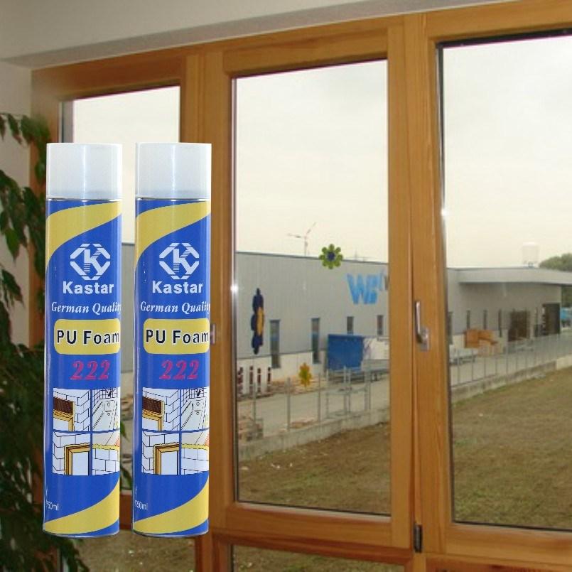 Good Manufacturers Aerosol Canned PU Foam Sealant (Kastar 222)