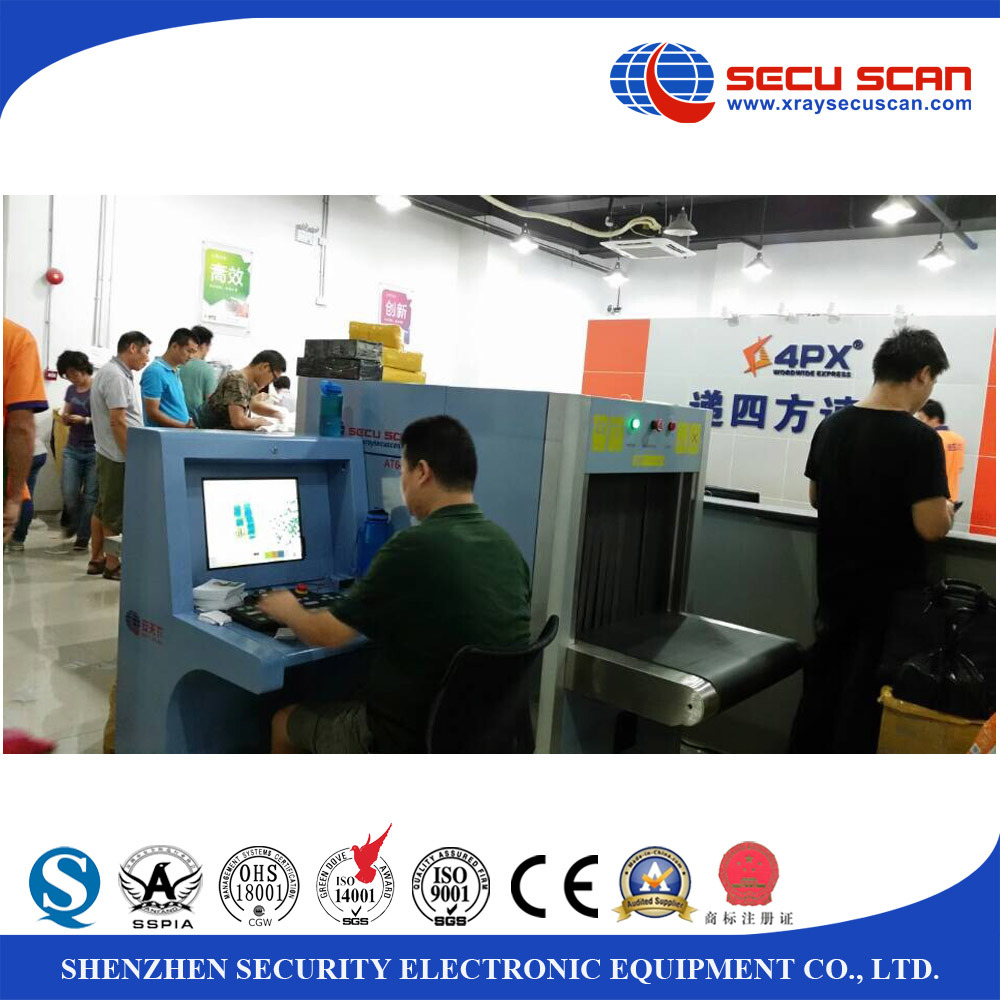 AT6040 Middle Size X Ray Baggage Scanner Machine for Metro, hotel