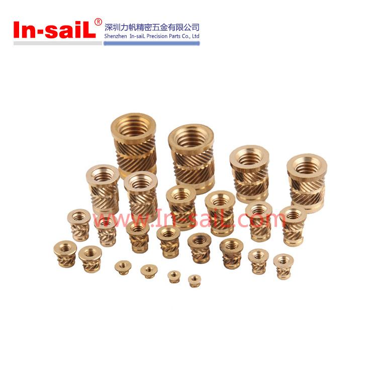 Threaded Inserts for Plastics Brass Insert