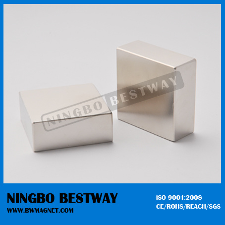 Strong Permanent Sintered NdFeB Block Magnet