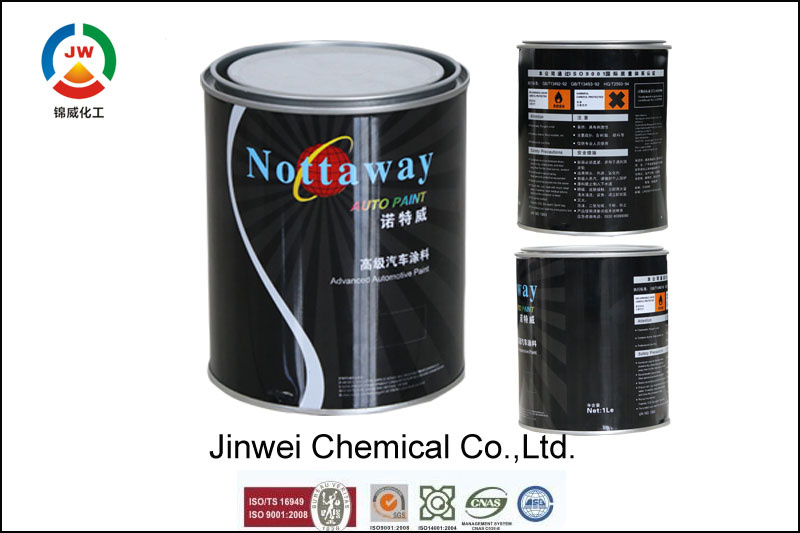 Jinwei Exterior Wall Low Voc Water-Based Acrylic Emulsion Latex Spray Paint