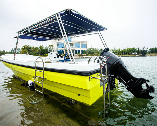 Outdoor Recreation Motor Fiberglass Fishing Yacht for Sale