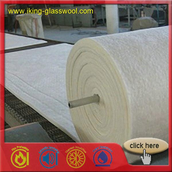128 Density (kg/m) and Alumina Silicate Insulation Ceramic Fiber Blanket