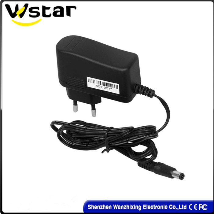 12V 1A Europe Plug Power Adapter AC DC Adapter