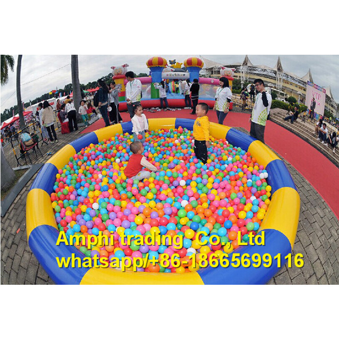 Customized Inflatable Kids Ball Pit Pool/ Water Walking Ball Pool/Inflatable Ball