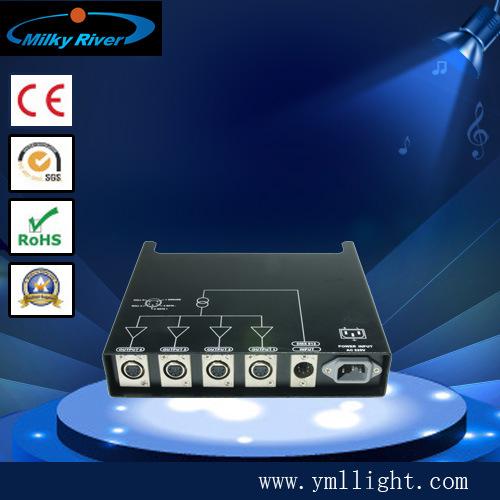 DMX Digital Signal Splitter Double CPU, Double Signal Interface