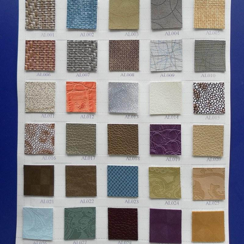 PVC Decorative Furniture Vinyl Upholstery Leather