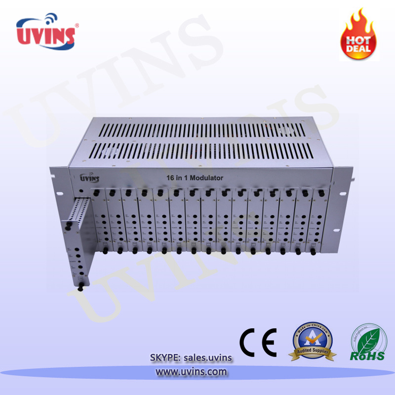 16 in 1 CATV Modulator Fixed Frequency