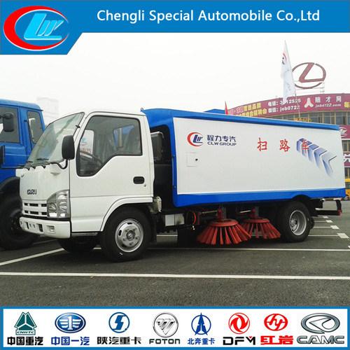 Euro4 Diesel 95HP Dongfeng 4X2 Road Sweeping Truck
