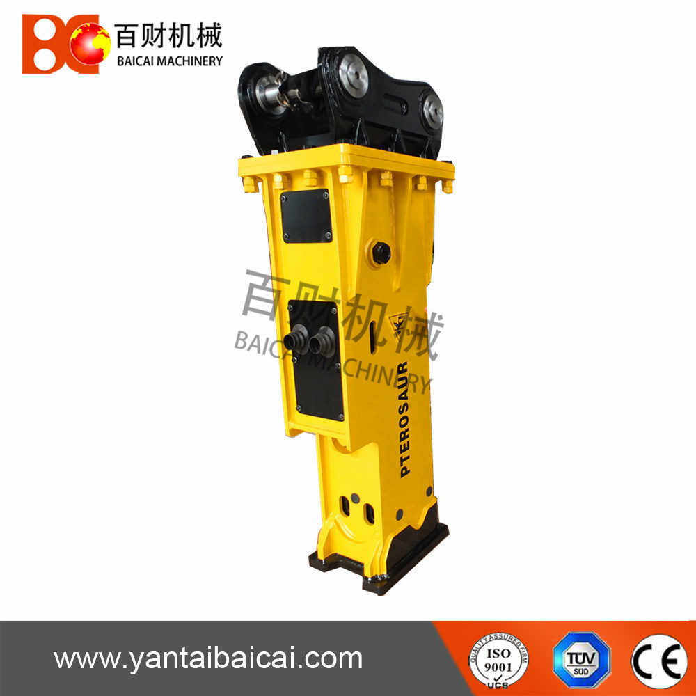 Silent Type Hydraulic Excavator Hammer with Chisel 155mm