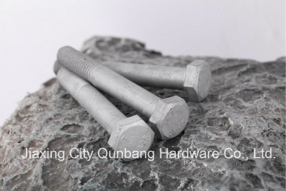 Heavy Hex Bolts (1/2′- 1-1/2′ HDG A325 ASTM A325)