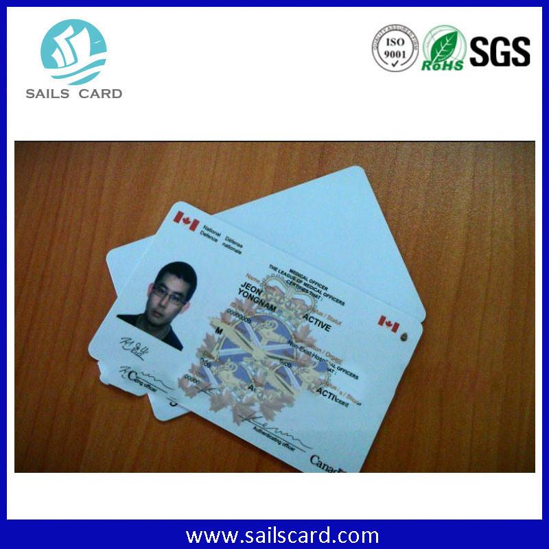 125kHz Tk4100 or 13.56MHz M1 S50, F08 Smart ID Card