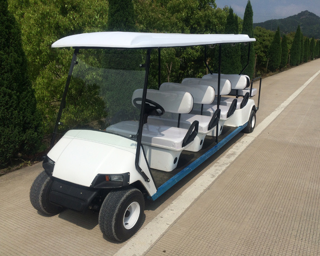 4000 W 8 Passenger Electric Sightseeing Car for Sale
