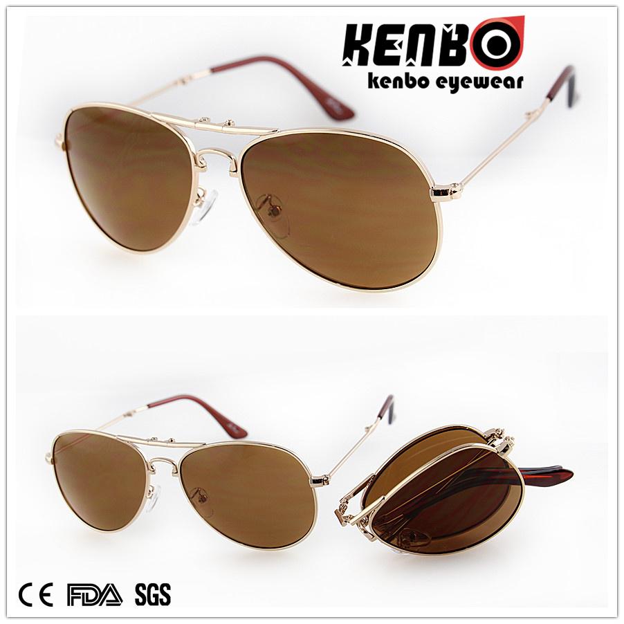 Foldable New design Metal Sunglasses for Men, Km15298