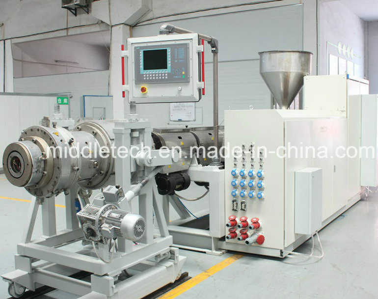 (CE certificate) Plastic Machine-LDPE/PE (HDPE) /PVC Pipe &Profile Extrusion/Making Machine (haul off/Cutter/Winding)