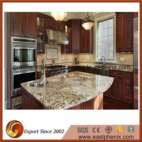 White/Black/Beige/Red/Gold Granite Kitchen Island Countertops for Kitchen/Bathroom