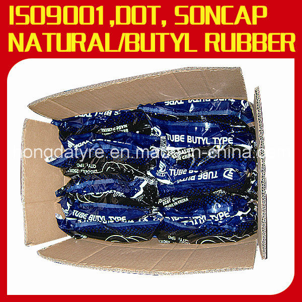 Natural Rubber/Butyl Rubber Motorcycle Inner Tube
