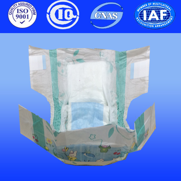 Breathable High Quality Baby Diapers with Leak Cuffs Factory Supplying