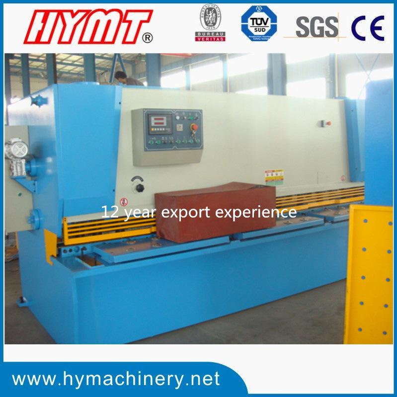 QC11Y-12X2500 hydraulic type guillotine shearing cutting machine