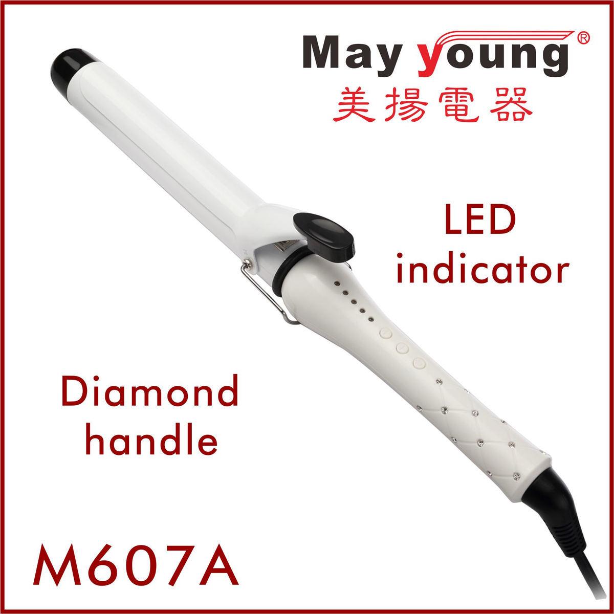 Manufacture 24 Diamond Handle Glaring&Luxury Ceramic Hair Curler