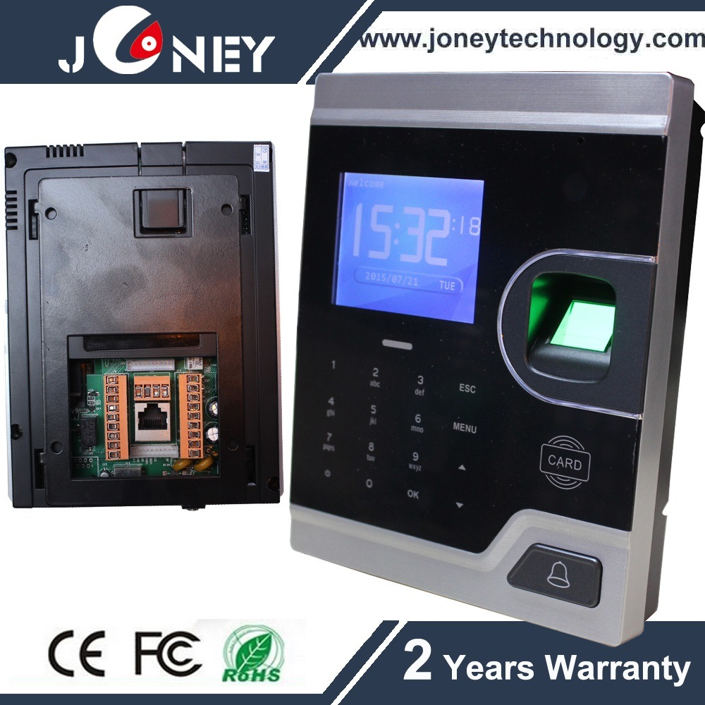 TCP/IP RFID& Fingerprint Attendance Access Control System Biometric Fingerprint Solution