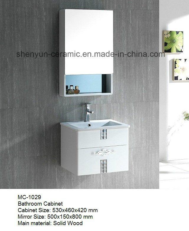 Bathroom Furniture Bathroom Cabinet with Wash Basin (MC-1029)