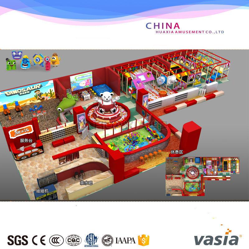 Children Amusement Park Indoor Equipment Playground Soft Playground