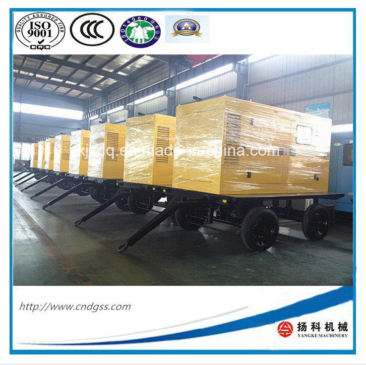 30kVA/24kw Trailer Mounted Silent Diesel Generator