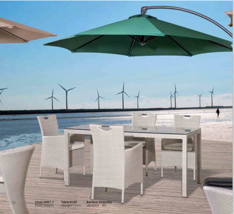 Outdoor Leisure Rattan Garden Tables and Chair