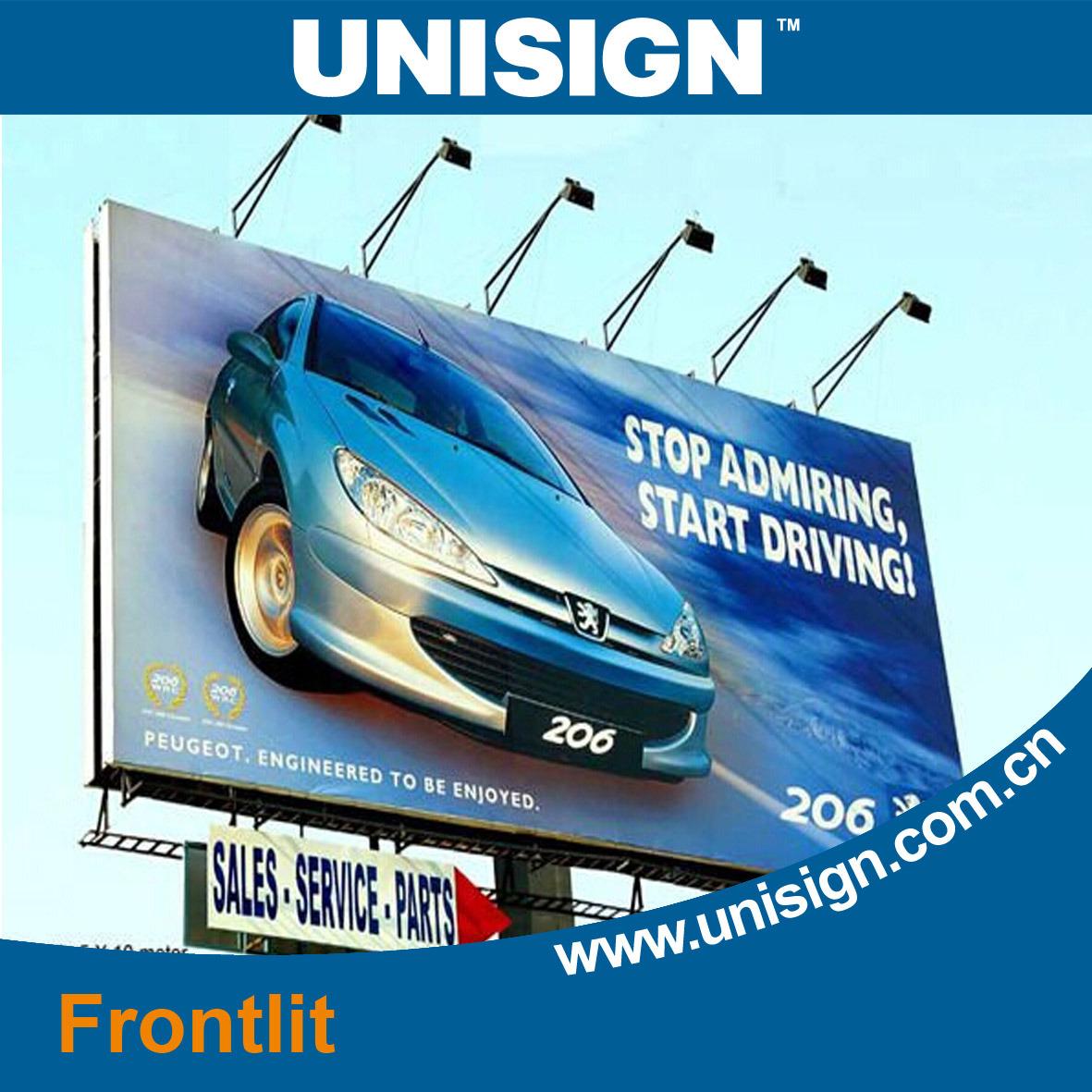 Outdoor Advertising Material (fronlit, backlit flex banner)