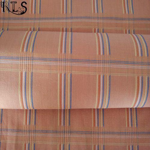 Cotton Polyester T/C Yarn Dyed Fabric for Clothing Shirts/Dress Rls45-1tc