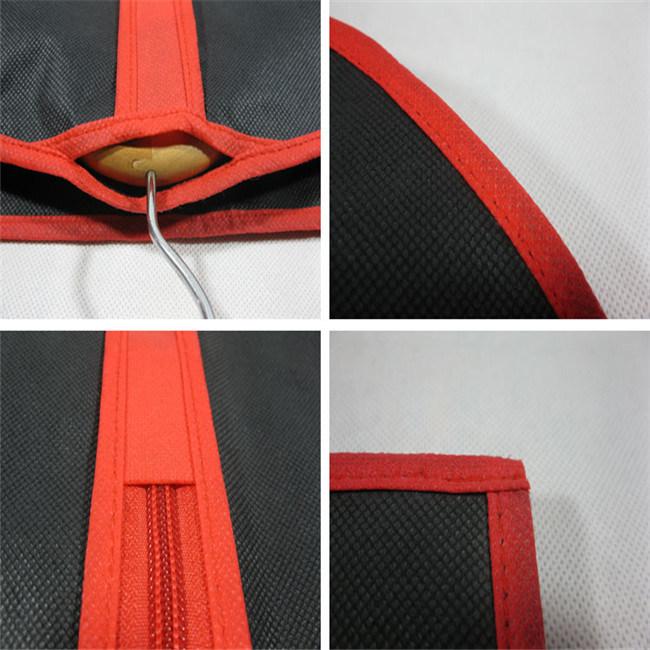 Custom Printed PP Suit Bag, Non Woven Garment Bag (MECO127)