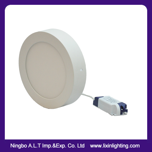 Slim Recessed LED Panel Downlight in White Color 3W~24W