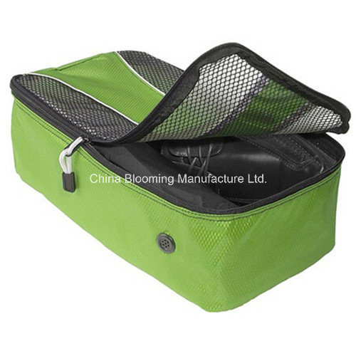 Waterproof Nylon Custom Sports Gym Portable Mesh Travel Shoes Bag