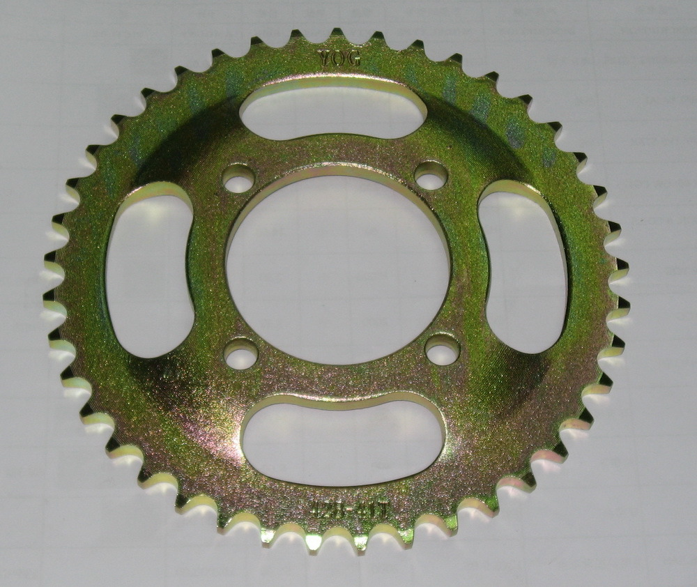 Yog Motorcycle Parts Motorcycle Rear Sprocket Cg150 Curved Bowl Type