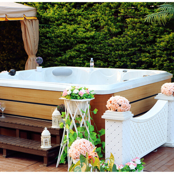 Hot Spot 5 Persons 2 Lounges Hot Tub Exterior SPA Jacuzzi