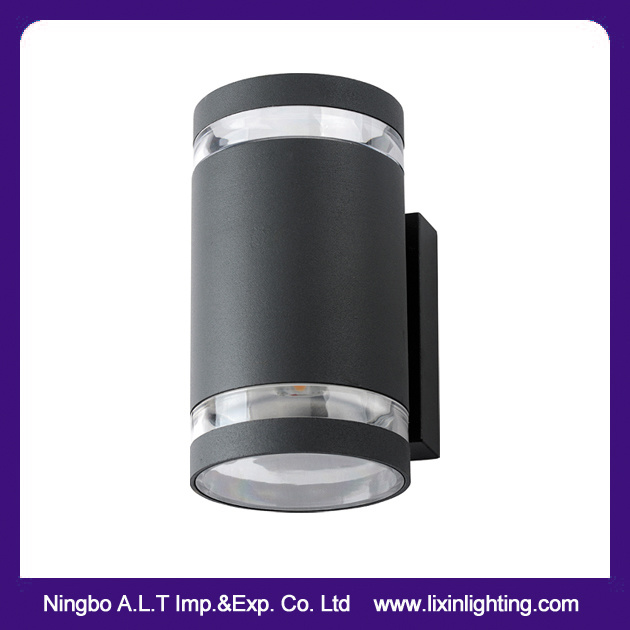 Outdoor European LED Wall Light Cylinderic Appearance