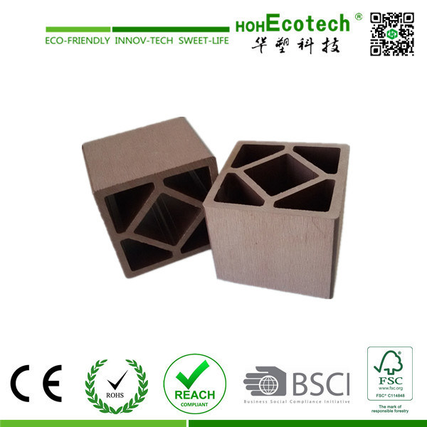 CE Approved Waterproof Gazebo Wood Plastic Composite WPC Fencing Post