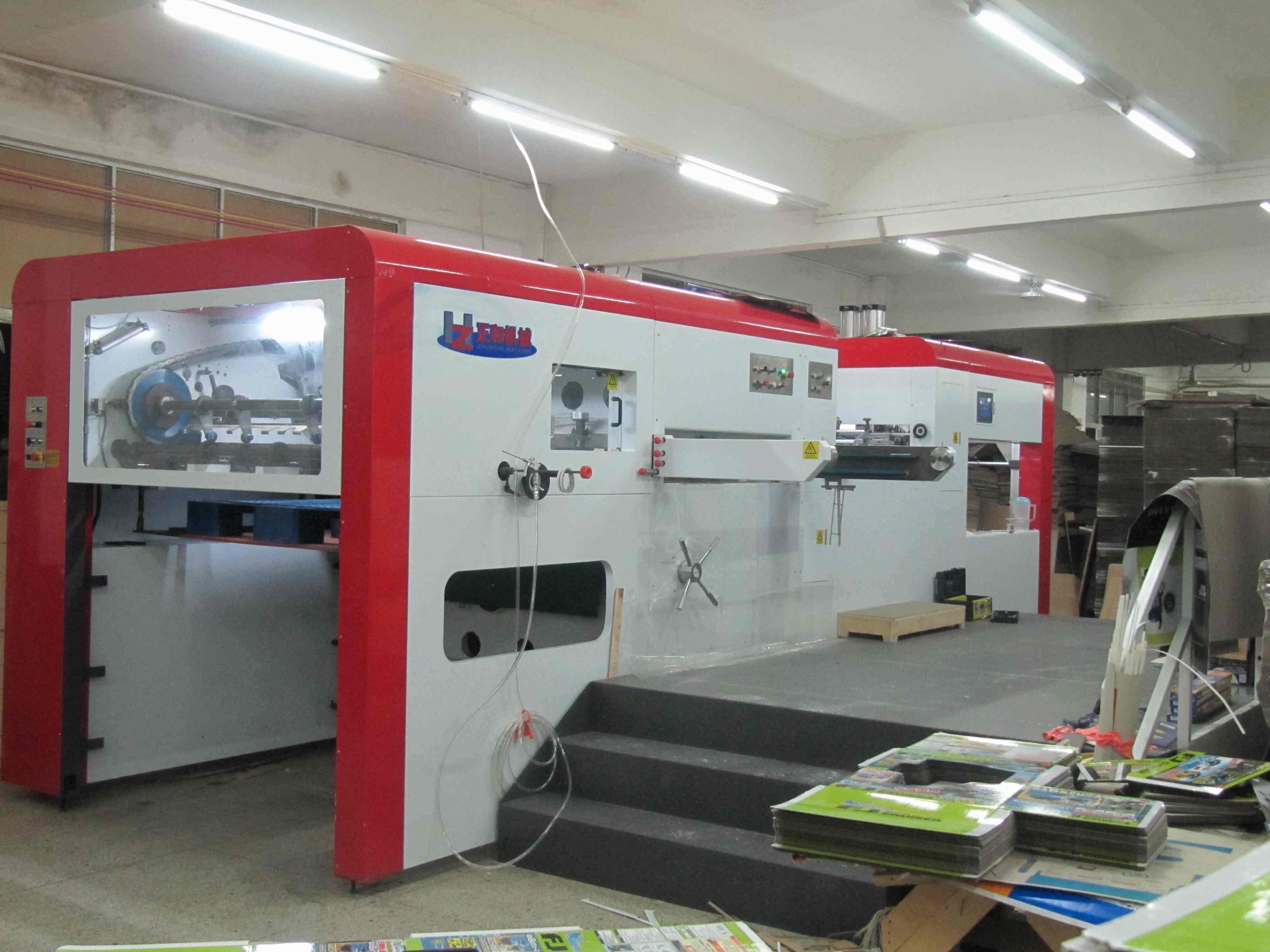 Automatic Flatbed Die Cutting Creasing Machine (ZH-1670)