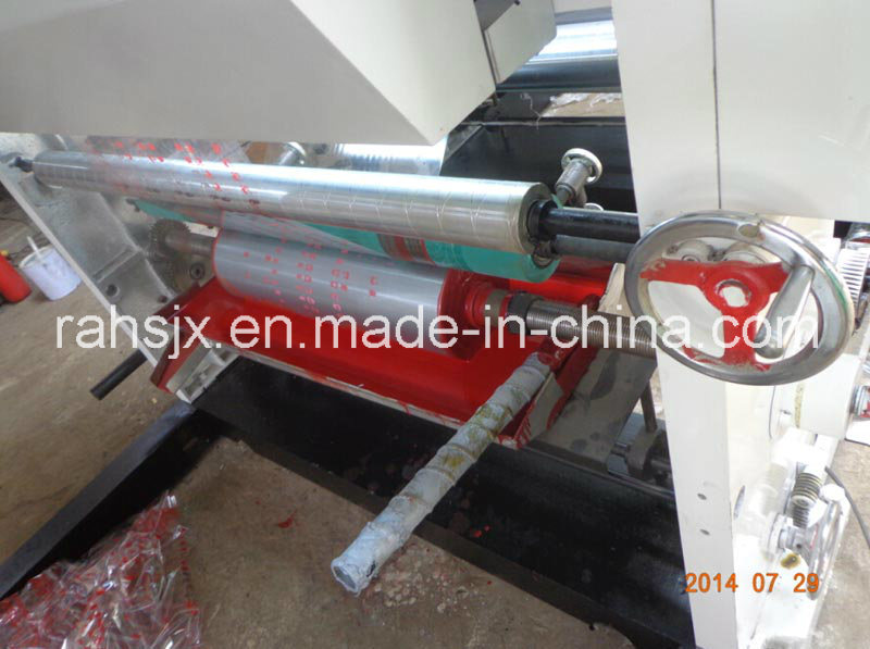 Double Colour Plastic Film Gravure Printing Machine
