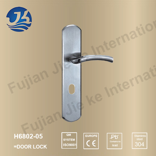 High Quality 304 Stainless Steel Door Lock (H6802-05)