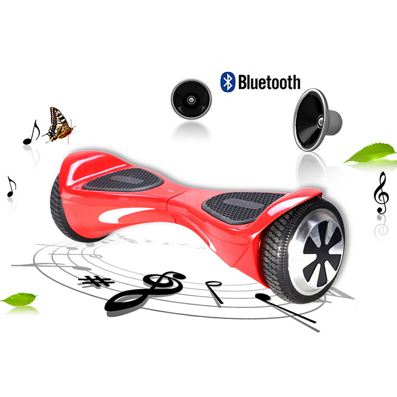 New Two Wheels Self Balancing Electric Scooters Skateboard with Bluetooth