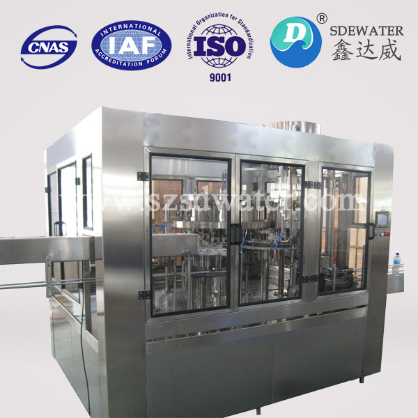 Full Automatic Monoblock Beverage Water Bottle Filling Machines